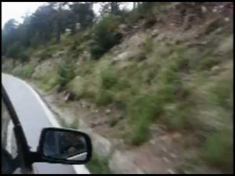 MOTORING - Driving in the Pyrenees - June 2005 - Sant Miquel d'Engolasters (Andorra)