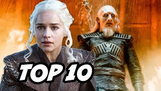 Game Of Thrones Season 7 Episode 1 - TOP 10 Q&A