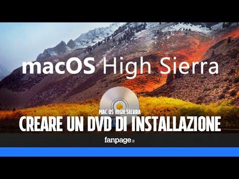 Mac OS High Sierra: come creare un DVD e installarlo da zero