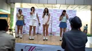 2013.04.27、町田ターミナルプラザにて、町田ご当地アイドル「ミラクル...