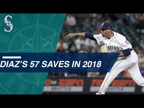 Check out all 57 of Edwin Diaz's saves in 2018