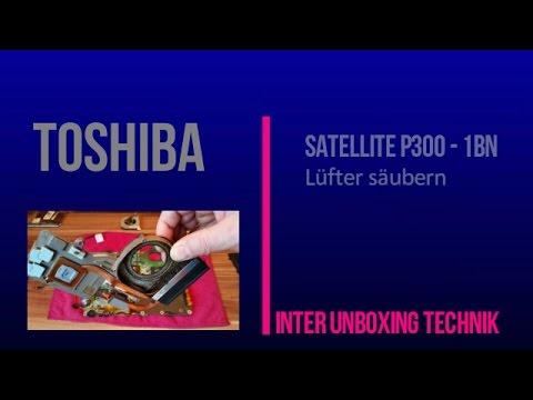 TOSHIBA SATELLITE P300  1BN Lüfter säubern oder CPU tauschen.