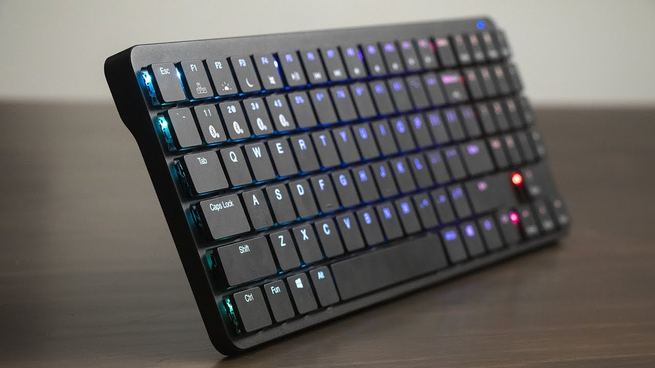 Hexgears X-1 Review - Low Profile Wireless Mechanical Keyboard