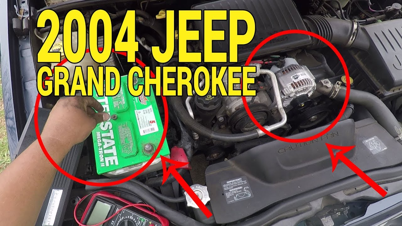 Replacing An Alternator On A 2004 Jeep Grand Cherokee 4 7l