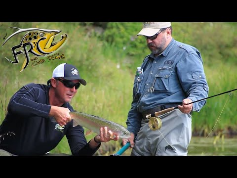 Curtis Fleming Fly Fishes The High Mountain Lakes In Chama New Mexico With PHW