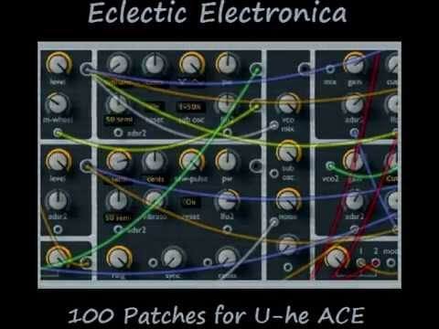 100 presets for u-he ACE vst synth  80s, ambient, dub, etc