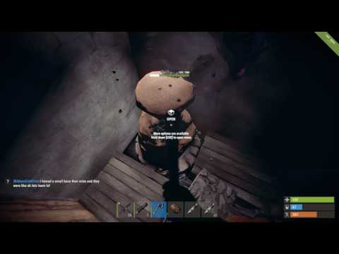 Rust jackpot raid (I HATE PARKOUR)