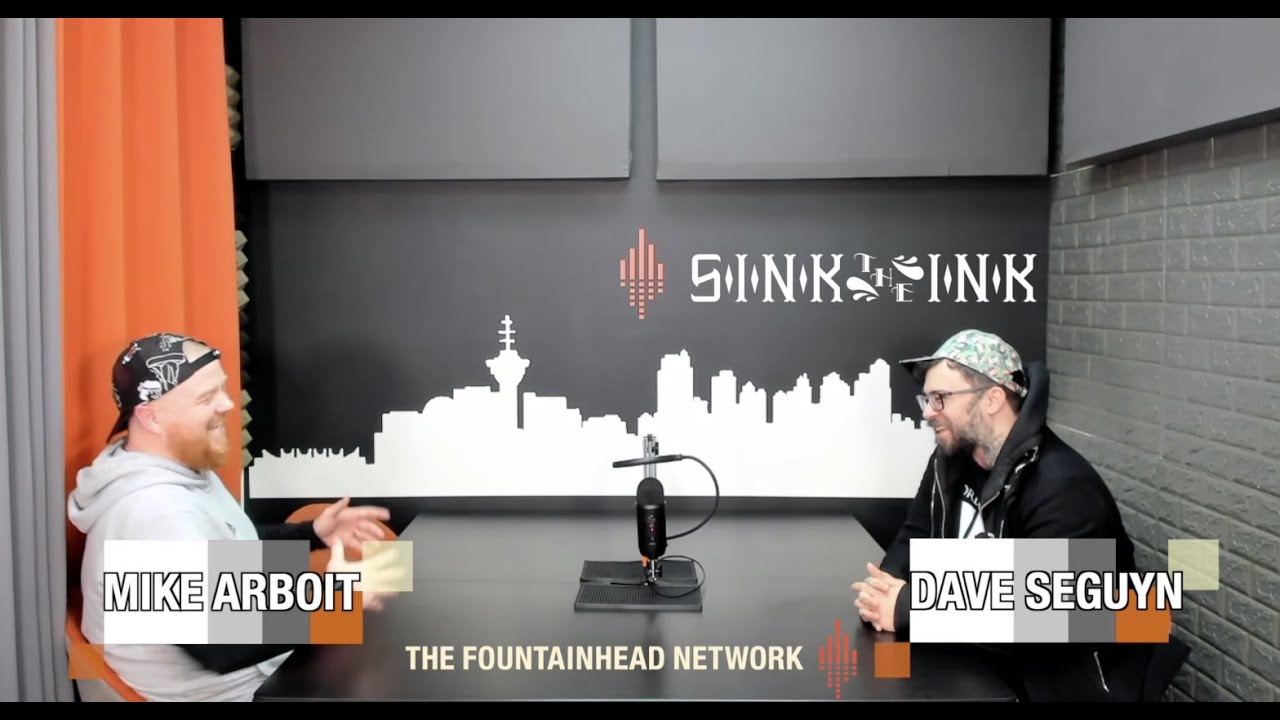 The Fountainhead Network Presents PoCommunity Episode 41: Dave Seguyn from Sink The Ink Tattoos