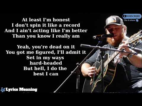 Luke Combs - What You See Is What You Get | Lyrics Meaning