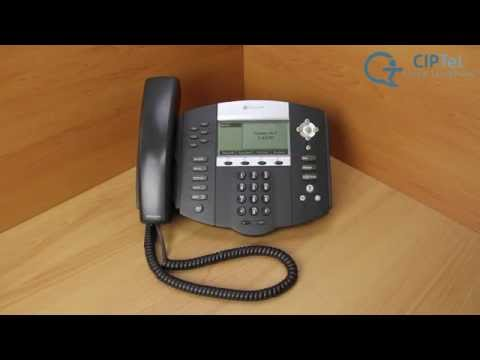 Polycom IP 550/650 telephone - How to factory reset