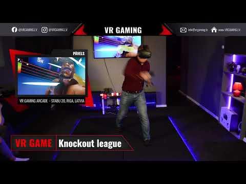 Knockout league - VR spēles ieskats