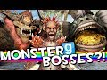 GIGANTIC MONSTER BOSSES!! | Gmod Sandbox Fun (Vindictus EPIC Boss Fights)