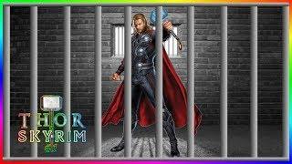 Thor Escapes Prison | Thor in Skyrim #1