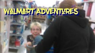 Causing Damage At Walmart
