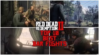 Top 10 Best Bar (Fight) Random Encounters in Red Dead Redemption 2