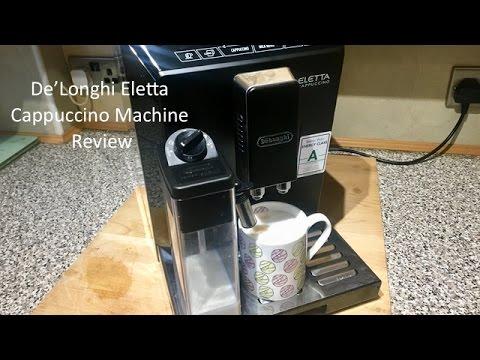 De'Longhi Eletta Cappuccino Machine Review