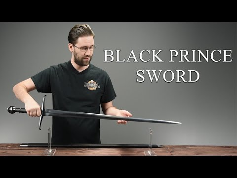 IP-076-2 Black Prince Sword from Medieval Collectibles