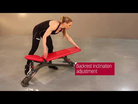 1HP201 - Fully adjustable bench