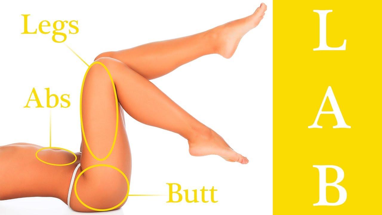 Тренировка Н. П. Я (Ноги, Пресс и Ягодицы) | комплекс упражнений для похудения ног бедер