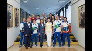 Чествование студентов-спортсменов – участников II  Европейских игр
