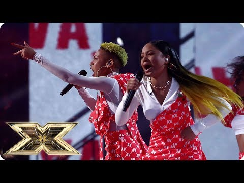 Acacia & Aaliyah sing Survivor | Live Shows Week 4 | The X Factor UK 2018