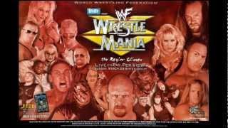 "WWE (WWF): WrestleMania XV Theme Song - ""Rage (Alternate Version)"" - James Alan Johnston"