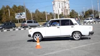Дрифт на квадрате Джимханна 2014 Новороссийск