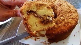 Cinnamon & Walnut Coffee Cake