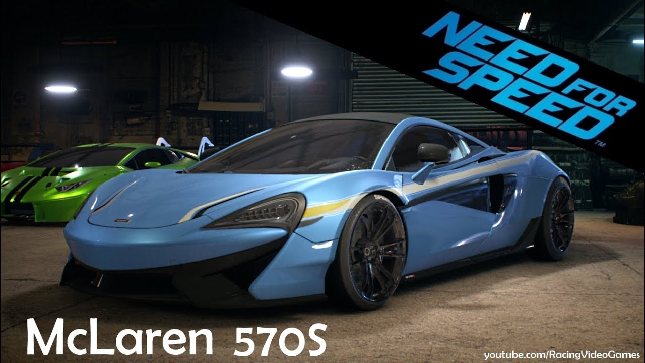 need for speed 2015 mclaren 570s gameplay customized. Black Bedroom Furniture Sets. Home Design Ideas