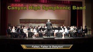 Canyon High- Fallen, Fallen is Babylon!