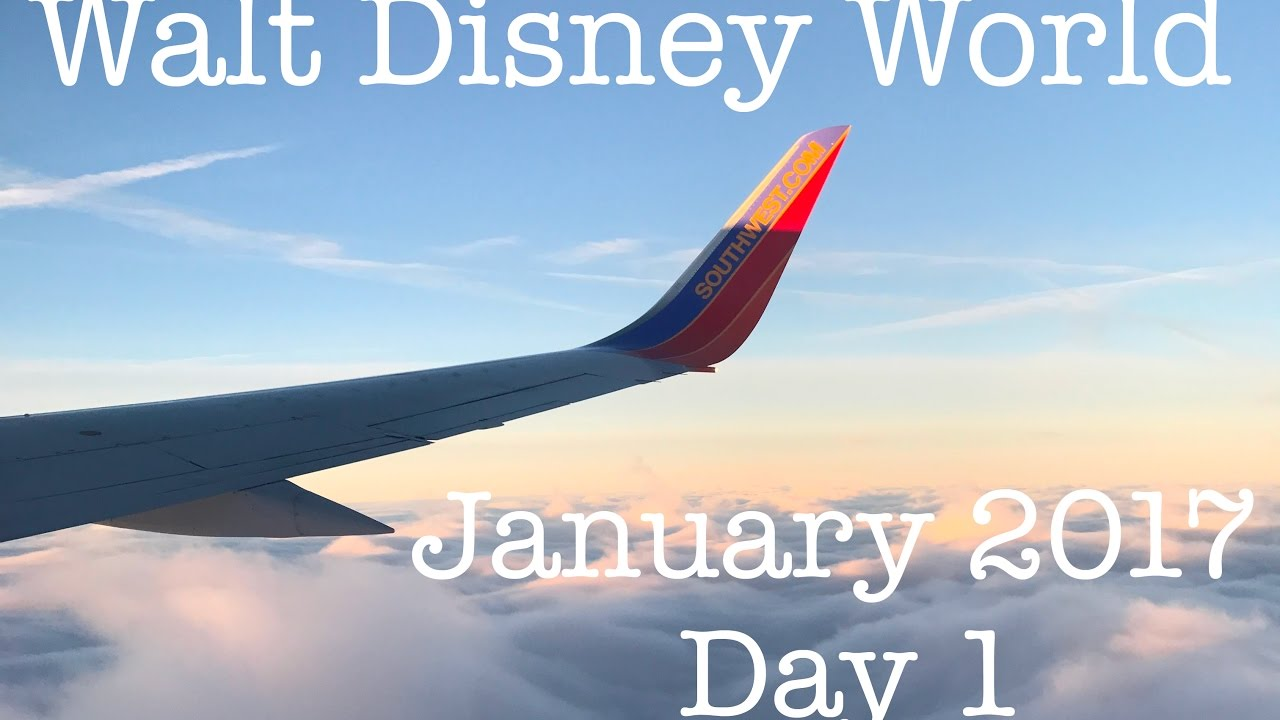 Walt disney world vacation january 2017 day 1 for Where to vacation in january