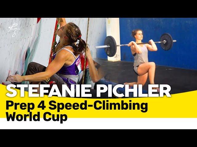 Stefanie Pichler - S&C Vorbereitung für Speed-Kletter World Cup in China (2013-2016) 🇬🇧🇲🇪🇧🇦🇷🇸🇭🇷 Subs