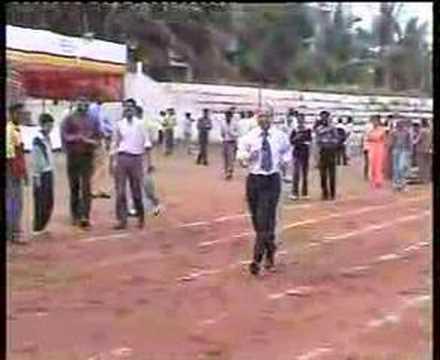 JNMC Sports Meet Staff Race