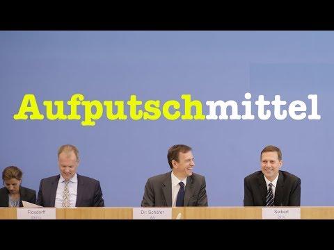 18. August 2017 - Komplette Bundespressekonferenz