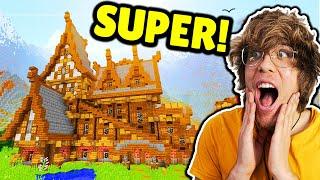 ZMIENIŁEM NASZ DOM W PRAWDZIWY PAŁAC ! | Minecraft XD #8