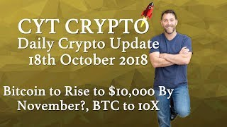 🔥Bitcoin To Rise To $10,000 By November? 🔥10X For BTC 🔥 AdBank