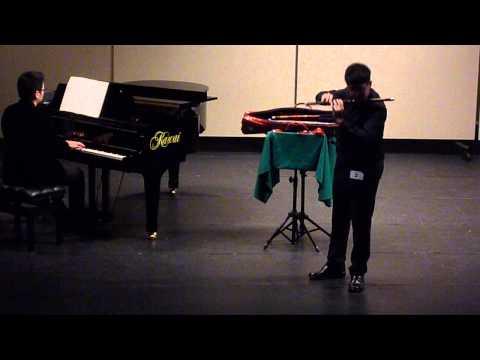 102學年度全國學生音樂比賽大專A組笛獨奏特優第二名
