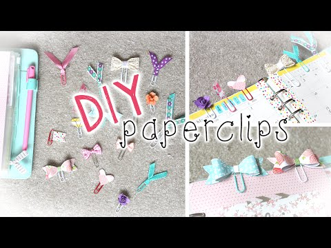 DIY Planner Supplies   Cute Paper Clips