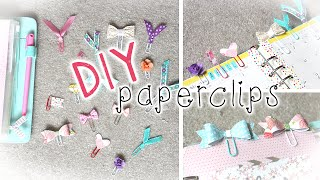DIY Planner Supplies | Cute Paper Clips
