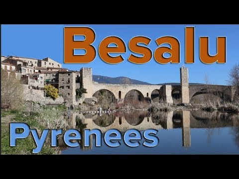 Medieval Town & Bridge of Besalu - Pyrenees, Spain