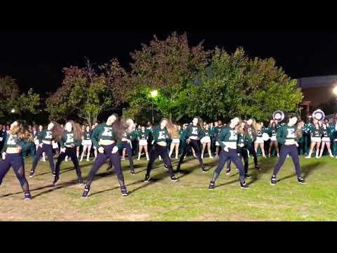 Eastern Michigan University Dance Team Pep Rally 2017 Happy & You Know It
