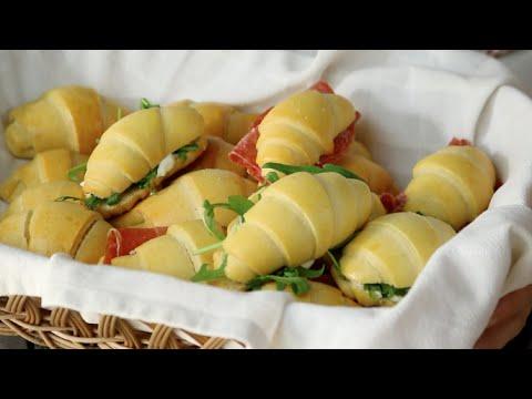 Cornetti salati ricetta facile veloce senza burro e for Fatto in casa da benedetta 2
