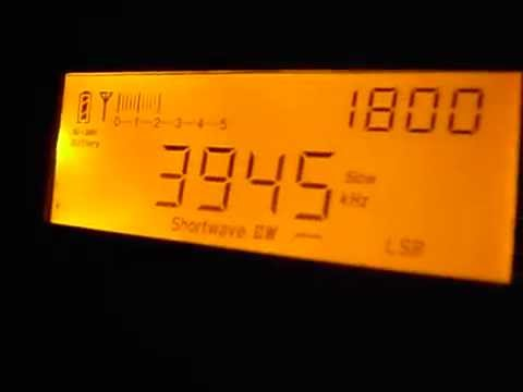 3945kHz maybe Radio Vanuatu, 3365kHz NBC Radio Papua New Guinea