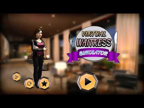 Virtual Waitress Simulator Hotel Manager: Android Gameplay HD