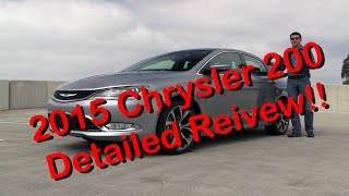 2015 Chrysler 200 C Detailed Review and Road Test Part 1 of 2