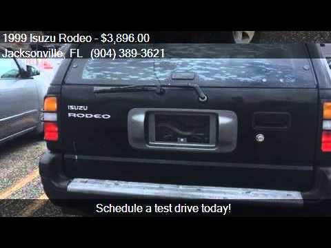 1999 Isuzu Rodeo LS 4dr SUV for sale in Jacksonville, FL 322
