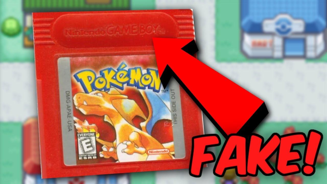 How to Spot FAKE Pokémon Gameboy Games - Buyer BEWARE ...