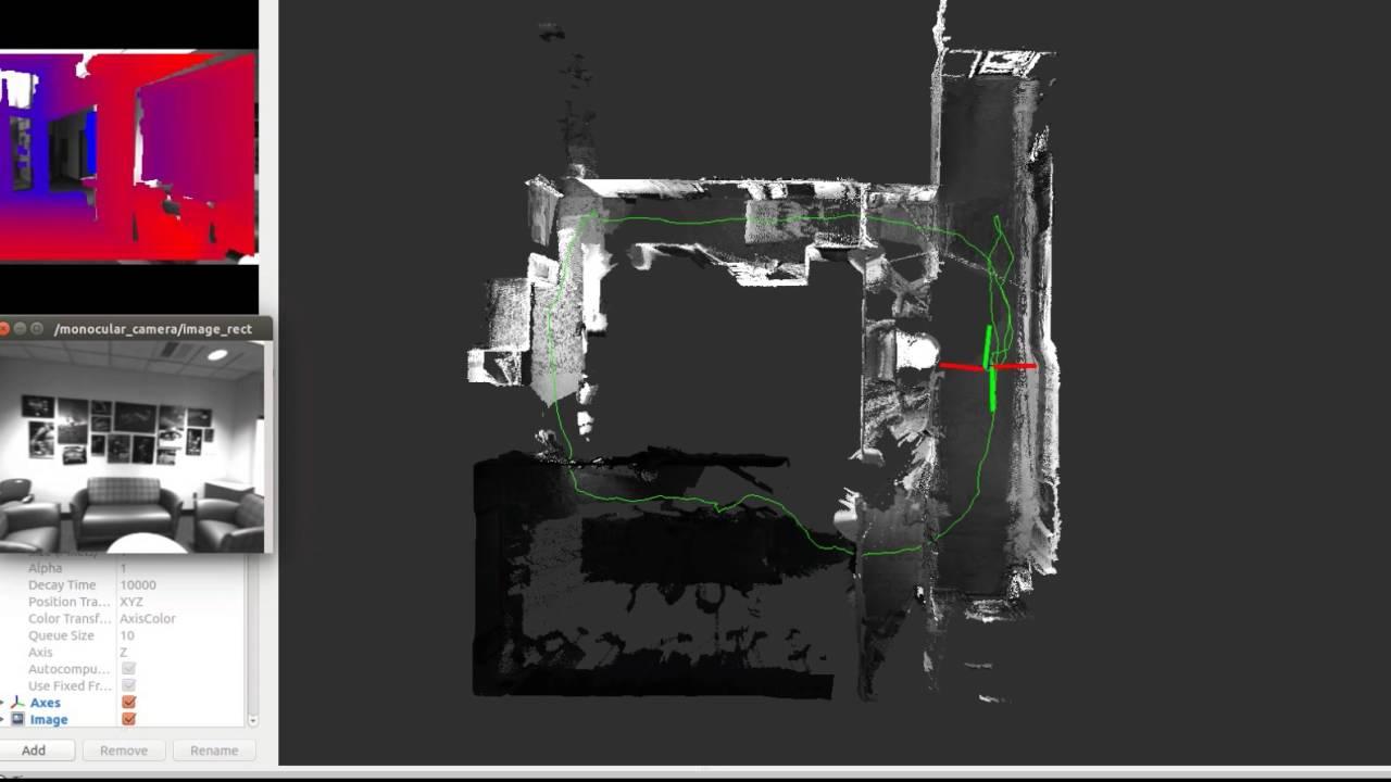 lidar-mono super-resolution indoor environment online dense