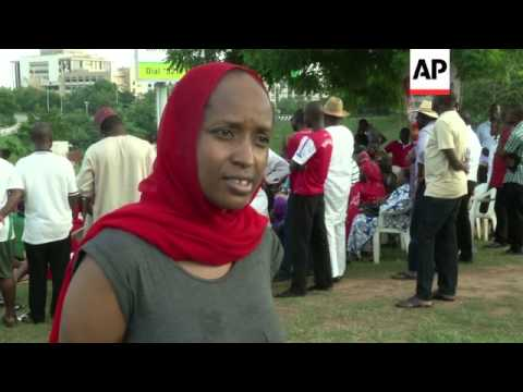 Rally in capital in support of kidnapped girls, reax to Paris summit