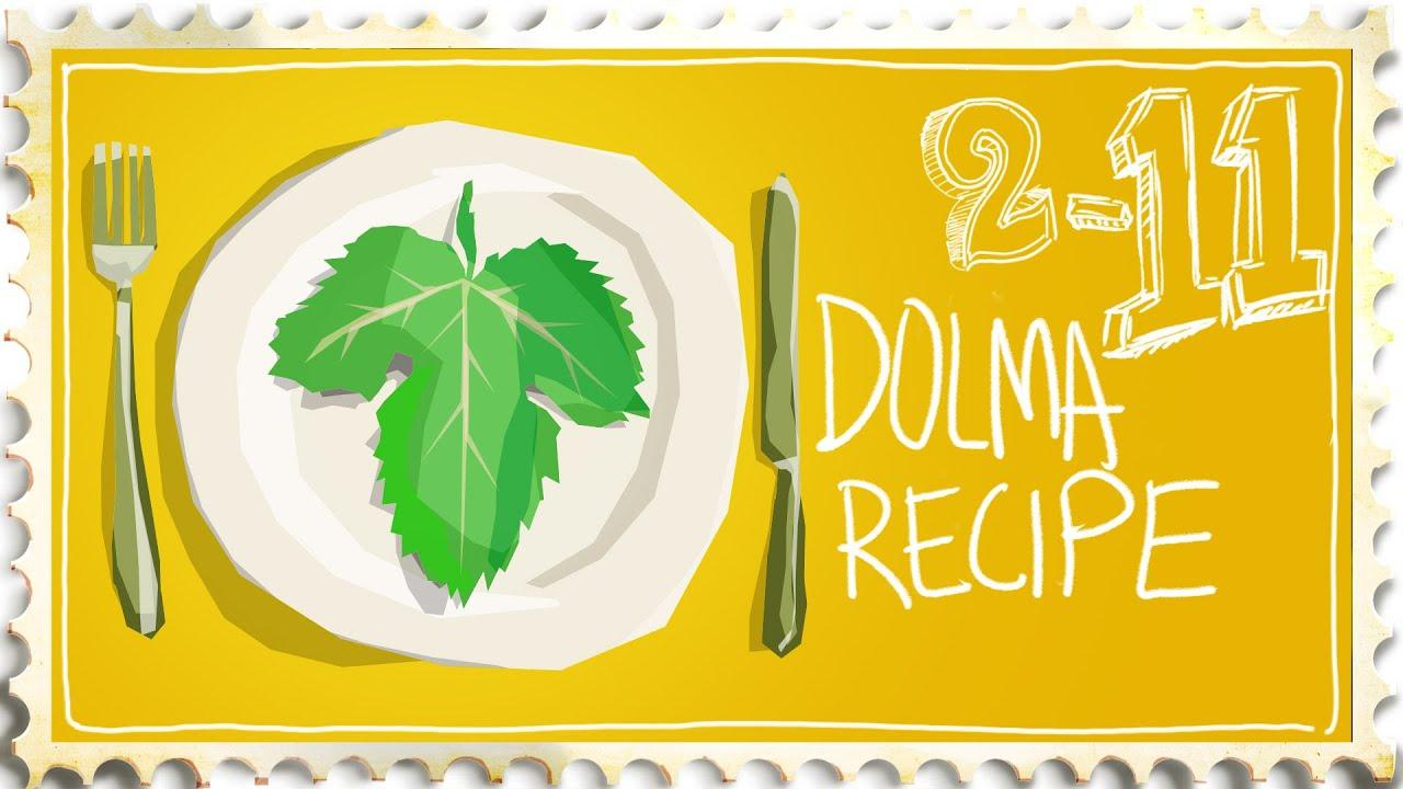 how to make dolma fresh grape leaves